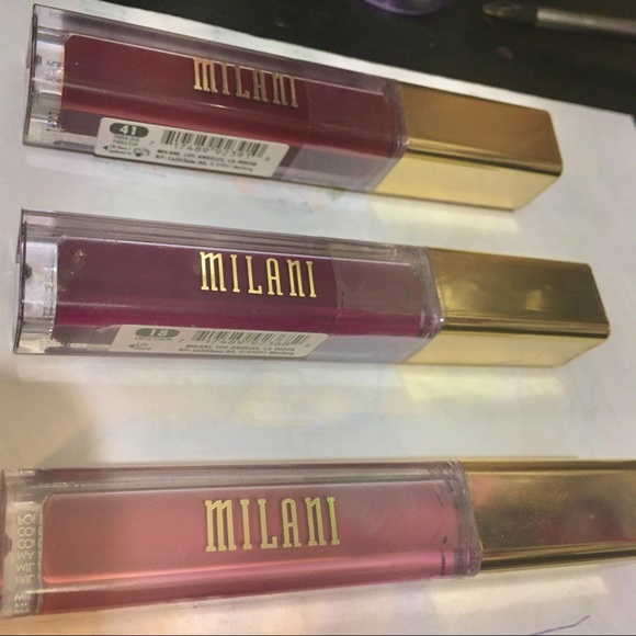 Set of 3 ( NWT! ) Milani Amore Matte Lip Crème